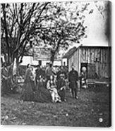 Civil War: Nurses & Officers Acrylic Print