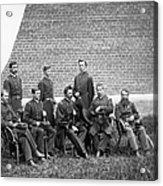 Civil War Officers Acrylic Print