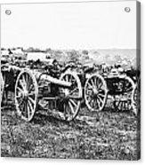Civil War: Parrott Guns Acrylic Print