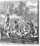 Civil War: Potomac River Acrylic Print