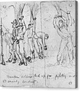 Civil War: Punishment Acrylic Print