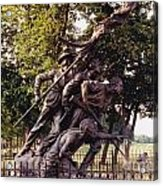 Civil War Soldiers Monument Acrylic Print