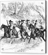 Civil War: Texas Rangers Acrylic Print