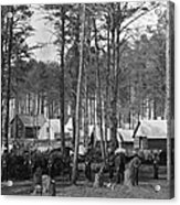 Civil War: Union Camp, 1864 Acrylic Print