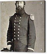 Civil War Union Commander Acrylic Print