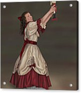 Clara With Nutcracker Acrylic Print