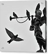Clarinet Statue Acrylic Print