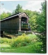 Clarks Covered Bridge Acrylic Print