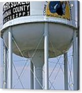 Clarksdale Water Tower Acrylic Print