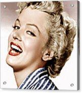 Clash By Night, Marilyn Monroe, 1952 Acrylic Print