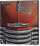 Classic 50s Chevy Acrylic Print