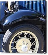 Classic Antique Car- Roaring Twenties - Detail Acrylic Print