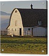 Classic Barn Near Grants Pass Acrylic Print
