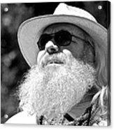 Classic Beard Acrylic Print