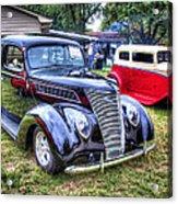Classic Black Ford Acrylic Print