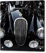 Classic Black Jaguar . 40d9322 Acrylic Print