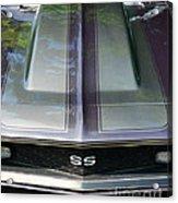 Classic Camaro Ss Hood Cowl Acrylic Print