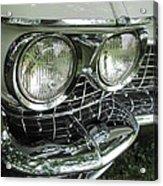 Classic Car - White Grill 1 Acrylic Print