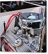 Classic Car Engine Acrylic Print
