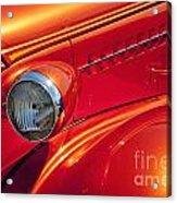 Classic Car Lines Acrylic Print