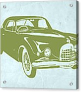 Classic Car Acrylic Print by Naxart Studio