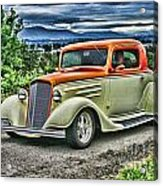 Classic Ford Hdr Acrylic Print