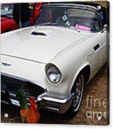 Classic Ford Thunderbird . 7d15239 Acrylic Print