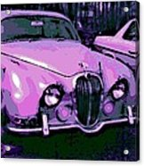 Classic In Pink Acrylic Print
