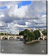 Classic Paris Acrylic Print