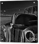 Classic Rust Acrylic Print