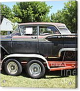 Classic Rusty Old 1959 Ford Galaxie 500 . 5d16308 Acrylic Print