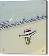 Classic T-bird Acrylic Print