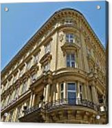 Classical Architecture in Vienna Acrylic Print
