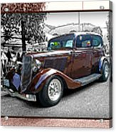 Classy Brown Ford Acrylic Print