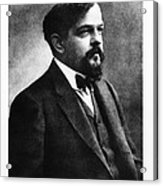 Claude Debussy, French Composer Acrylic Print by Photo Researchers