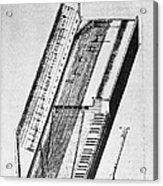Clavichord, 1636 Acrylic Print