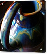 Clay Pitcher Acrylic Print