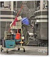 Cleaning Equipment Acrylic Print