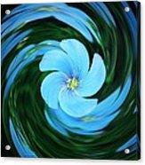 Clear Blue  Acrylic Print