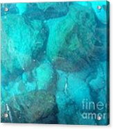 Clear Water 3 Ionian Sea Series Acrylic Print