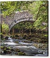 Clearbrook River Meavy Acrylic Print by Donald Davis