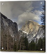 Clearing At Half Dome Acrylic Print