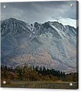 Clearing Storm Over North Canol Road Acrylic Print