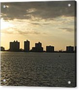 Clearwater Sky Acrylic Print