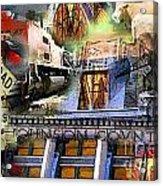Cleburne  Texas Acrylic Print