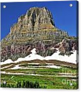 Clements Mountain Acrylic Print