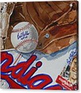 Cleveland Legend Bob Feller Acrylic Print
