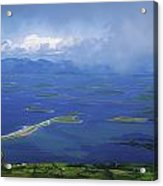 Clew Bay, Co Mayo, Ireland View Of A Acrylic Print