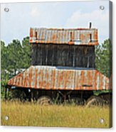 Clewis Family Tobacco Barn II Acrylic Print
