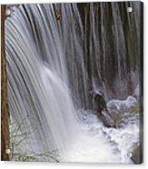 Cliff Falls In Maple Ridge Acrylic Print